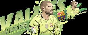Victor Valdes 1 FC Barcelona
