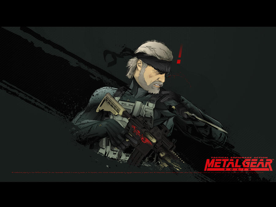 Metal Gear Solid: Old Snake CQC by akyanyme