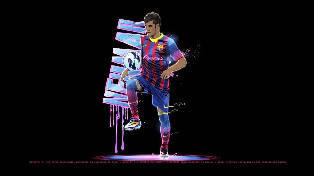 Neymar Jr Vector Wallpaper By Akyanyme