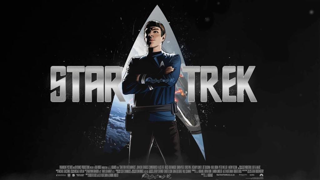 STAR TREK: SPOCK VECTOR by akyanyme