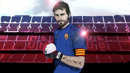 Iker Casillas vector by akyanyme