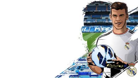 Gareth Bale vector by akyanyme