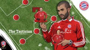 Josep Guardiola FC Bayern Munchen vector