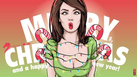 Merry Xmas and Happy New Year 2015 by akyanyme