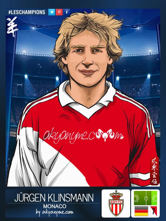 LesChampions: Jurgen Klinsmann Monaco by akyanyme