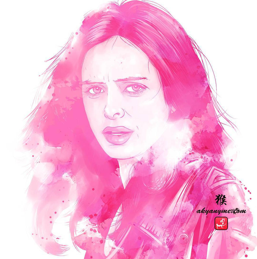 Jessica Jones Illustration by akyanyme