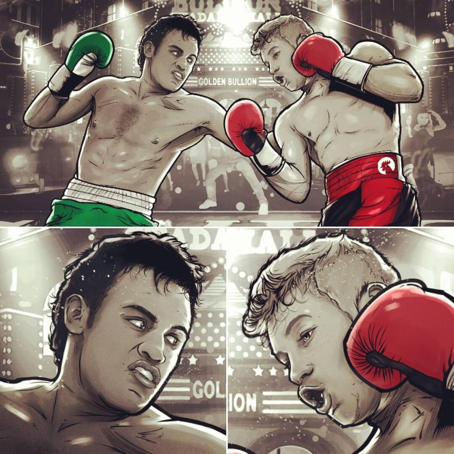 Canelo vs Chavez Jr by akyanyme
