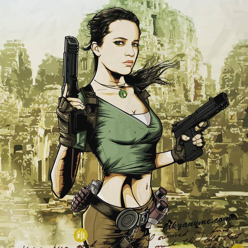 Alicia Vikander Lara Croft by akyanyme
