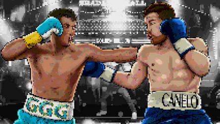 Canelo vs GGG 2 by akyanyme