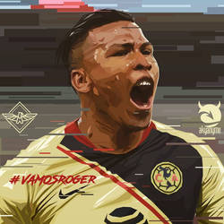 Roger Martinez Club America vector