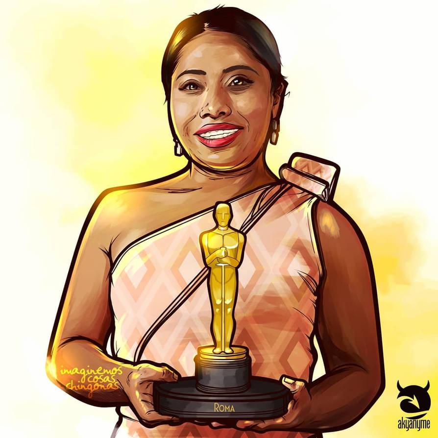Yalitza Aparicio Oscar 2019 by akyanyme
