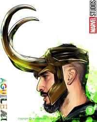 Ema Aguilera Loki ilustracion