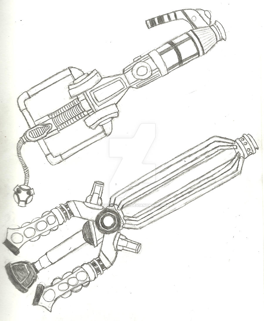 Cybermen and Dalek Keyblade by Cyber-Zacon