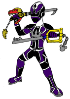 Sora Ranger Drive form by Cyber-Zacon