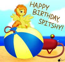 Birthday Blowout for Spitshy by GunpowderGreenTea
