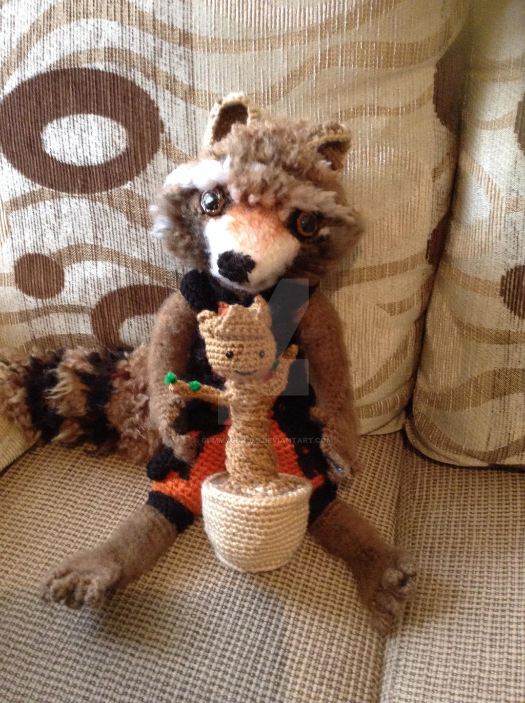 Guardians of the Galaxy, Rocket and... - Handmade With Love By ... | 1371x1024