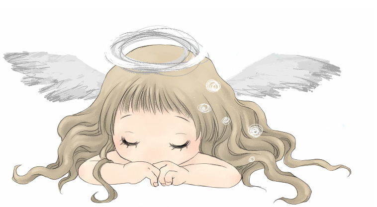 Sleeping Angel by izmiyura