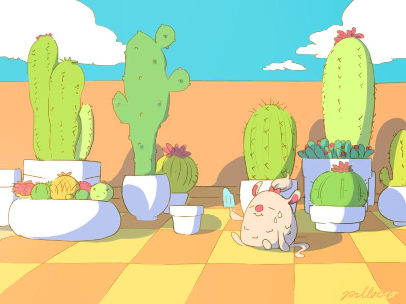 Cactus by Dakuburu