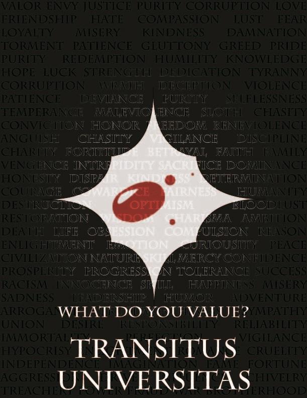 Transitus Universitas poster by NordRonnoc