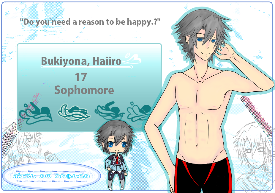 MNG App: Bukiyona, Haiiro by Kirby1fan