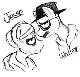 Walter and jesse by RaQuEl170898