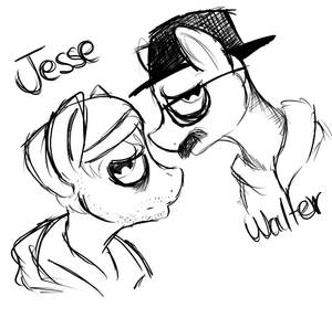 Walter and jesse