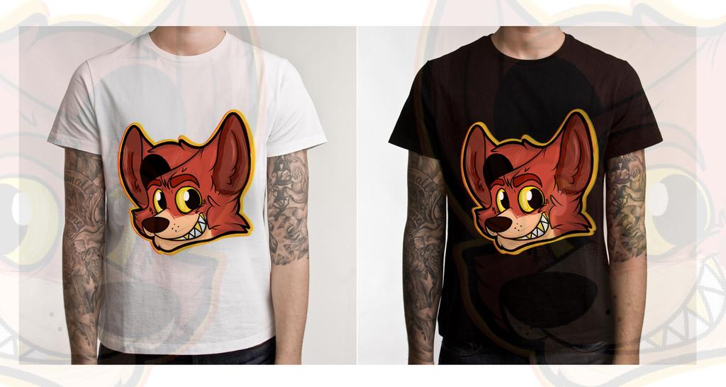 .:Foxy T-shirt:- by RaQuEl170898