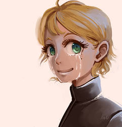 [RP] - Who made her cry i will report it to the he by NadeRegen