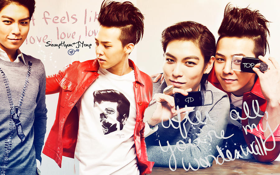 Wallpaper GDragon   TOP 5 by Atenais on DeviantArt