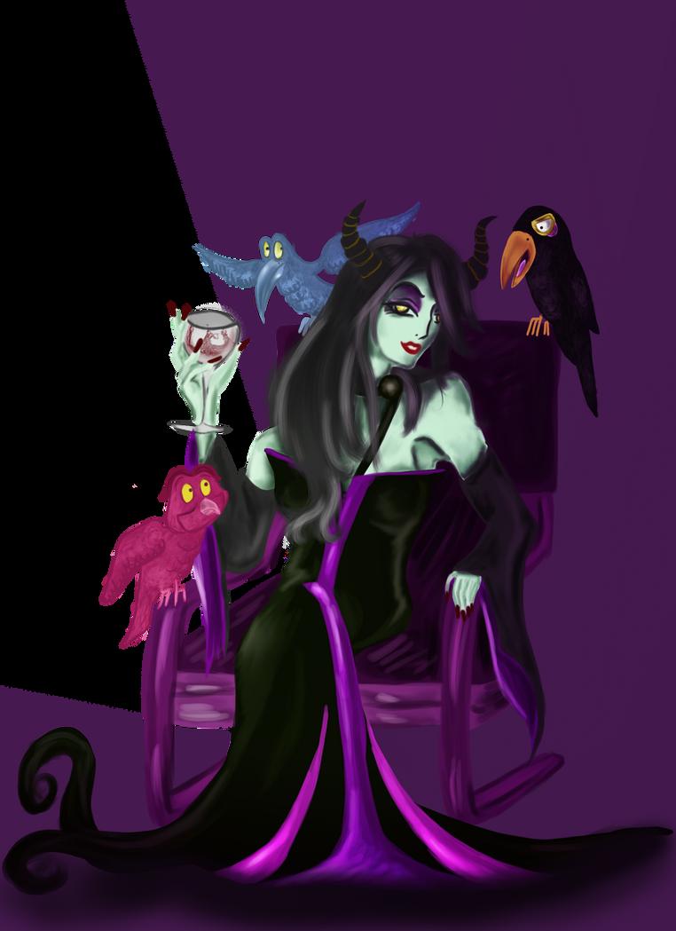Le(la) plus SEXY des MÉCHANT(E)S ? Maleficent_by_kishex_nevarx-d501lca