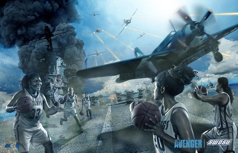 Avenger: SWOSU Women's Basketball by kylewright