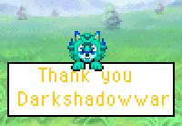 Thank you Darkshadowwar by Chocobomage15