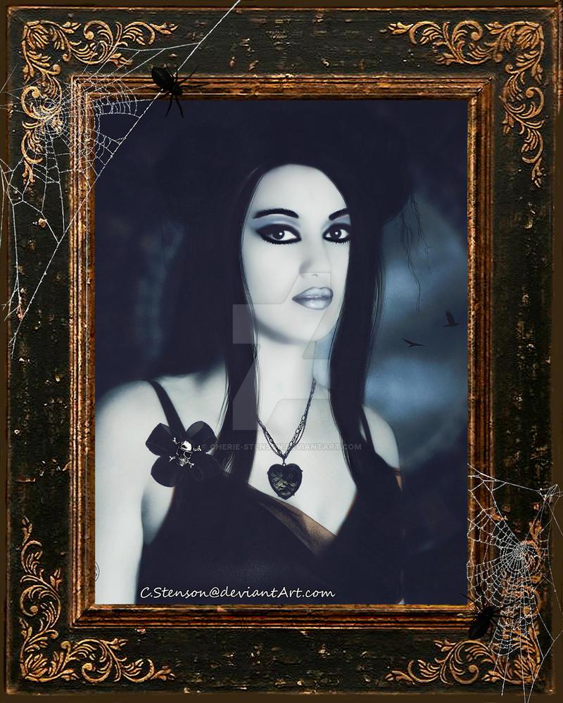 Gothic Girl by cherie-stenson