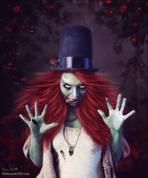 The Ghoul Witch by cherie-stenson