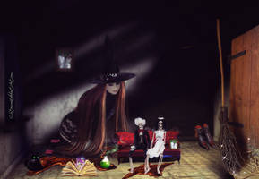 The Witches Spell by cherie-stenson