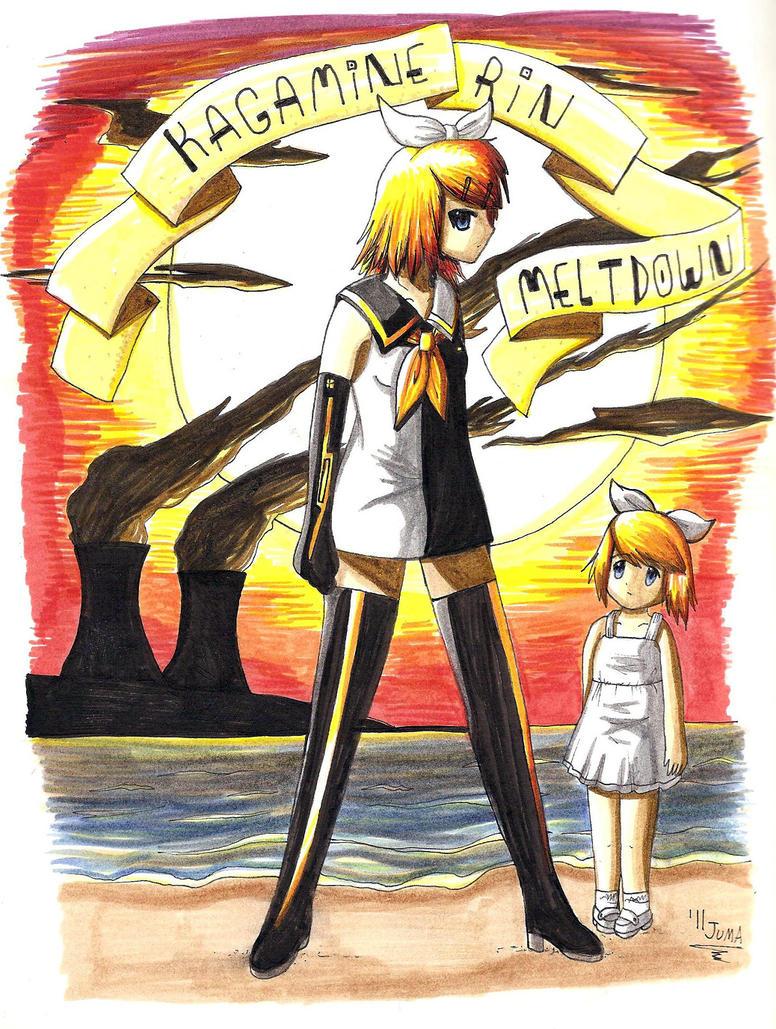 Kagamine Rin: Meltdown by Neon-Juma