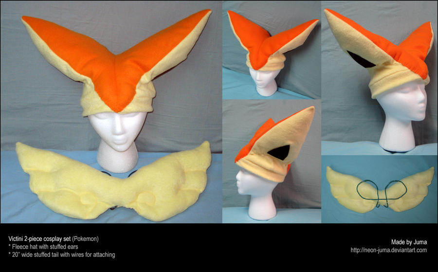Victini cosplay set by Neon-Juma
