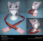 Nyan Cat hat by Neon-Juma