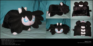 Gothitelle pillow pet