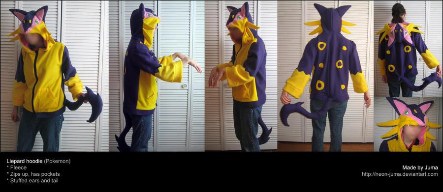 Liepard hoodie by Neon-Juma