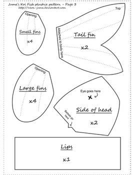 Koi Plushie Pattern - Page 3