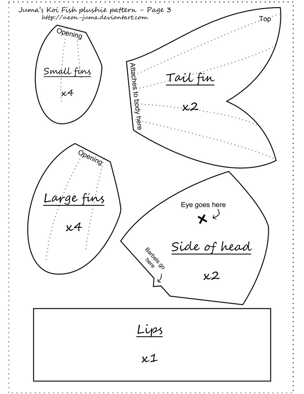 Koi plushie pattern page 3 by neon juma on deviantart for Ang pao fish tutorial