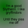Good Slytherin by HealingGoddess