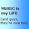 Music and guys by HealingGoddess