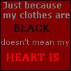 Black Heart? by HealingGoddess