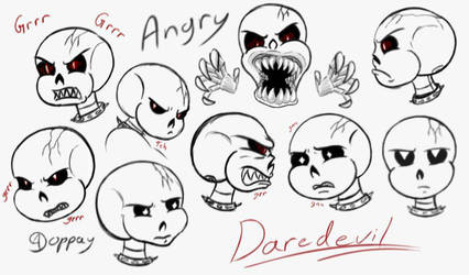 Daredevil expression angry