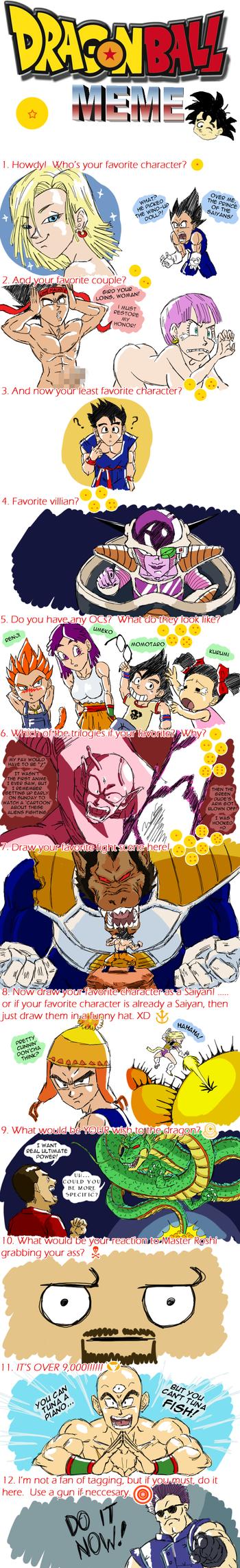 Dragon Ball Meme by SonGoharotto