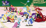 At the Gala, with my Bronies by SonGoharotto