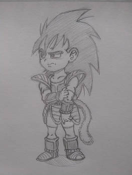Raditz, 3-years-old (What If Series)