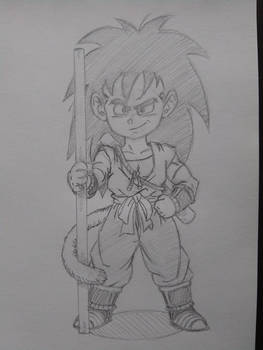 Raditz, 15-years-old (What If Series)